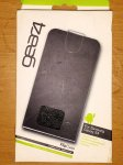 Gear 4 flip case leatherette for Galaxy S4 99p at 99p Stores