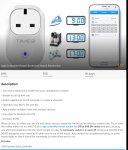 App Controlled Power Socket £18.00 plus £4.95 P&P @ Living Social / Fonetab