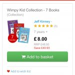 Wimpy Kid Collection - 7 Books (Collection) £10.95 @ The Book People / Red House Books