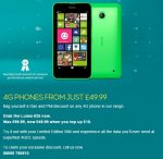 Nokia Lumia 635 @ 49.99 + £10 topup EE (Special Edition Dan and Phil SIM only)
