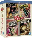 Wanted/Kick Ass/Scott Pilgrim Vs The World/ Hellboy (Blu Ray Boxset) £7.99 Delivered @ Zavvi
