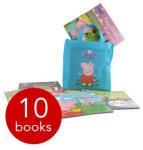 Peppa pig books 10 for £10 £2.95 postage @ The Book People
