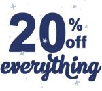 20%off at the original factory  shop Today
