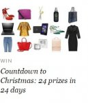 Win daily with the Countdown to Christmas Advent @ Stylist