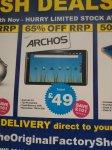 """Archos Arnova 10"""" G2 Tablet £49 Instore @ The Original Factory Shop"""