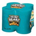 Heinz baked beans 4 pack £1.75 @ Lidl