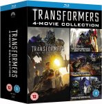 Transformers 1-4 Box Set [Blu-ray] *Lightning Deal* £15.99 @ Amazon