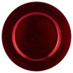 George Home Red Charger Plate £1 ASDA