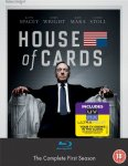 House of Cards - Season 1 Blu-ray £10.93 @ Amazon