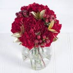 Debenhams Festive Rouge bouquet  + free delivery £11.99 using code