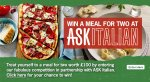 Win a meal for two worth £100 with ASK Italian plus a Sacla' hamper!