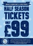 Half Season Tickets for Wycombe Wanderers - 12 Games for just £99