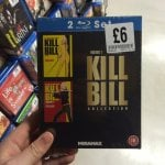 Kill bill 1-2 box set blu Ray £6 fopp