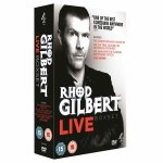 Rhod Gilbert Live Box Set [DVDs] £5.99 sold by Zoverstocks (new,not used) through Play.com