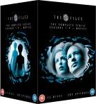 The X Files - Seasons 1-9 plus Movies DVD   £37.95 @ The hut