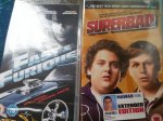 psp umd movies for £1 each at poundland including superbad and fast and furious