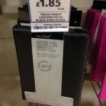 Kindle leather case £1.85 @ Tesco Instore
