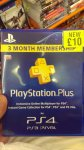 PlayStation Plus 3 month subscription in-store £10 instore @ Grainger games