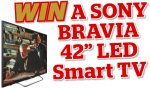 Win a 42in Sony Bravia Smart LED TV  @ tvchoicemagazine.co.uk
