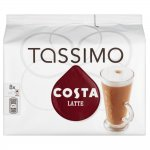 TASSIMO Costa Latte coffee 6 discs, 8 servings (Pack of 5, Total 80 discs/pods, 40 servings) - £16.65 (£11.65 with Mastercard) @ Amazon