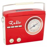 Retro Radio tin filled with Toffees £2 @ Tesco