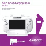 GAMEware Wii U All-In-One Charging Dock (White) £2 @ GAME (+2% Quidco if pay with Paypal)