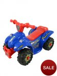 Boys/Girls Blue Or Pink Battery Powered 6v Small Quad Now Only £25 + £3.95 Delivery From Woolworths Online, Was £50! Great Xmas Toy For Age 3+, & Around 7% Quidco Or Top Cashback for New Customers,Existing Customers 1%