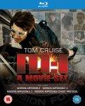 Mission Impossible 1-4 Blu Ray £13.99 @ TheHut/Zavvi
