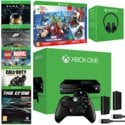Xbox One with Extra Controller, Play & Charge Kit, Stereo Headset, The Crew, CoD: Advanced Warfare, Forza 5 GOTY, Lego Marvel Super Heroes, Halo MCC & Disney Infinity 2.0 £429.97 @ Game.co.uk