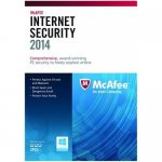 McAfee Internet Security 2014 1 Year 3 User PC Anti Virus Software - £5.99 @ eoutlet_uk  eBay
