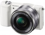 Sony a5000L Digital Camera with SEL-1650 Zoom Lens - White or Black - £259.00 @ Amazon