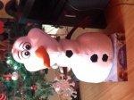 "20"" Olaf Disney plush frozen character £14.39 in Costco"