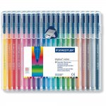 Staedtler Triplus Colour 323 SB20 Fibre-Tip Pen Desktop Box - Assorted Colours (Pack of 20) @ amazon £6.79 & FREE Delivery in orders over £10