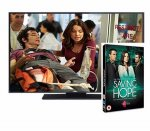 Win Saving Hope Season 2 DVD & 40inch  widescreen TV @ Closer Online