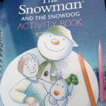 Free snowman activity book @ Mothercare