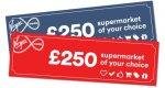 Win 1 of 2 a £250 supermarket voucher @ Mumsnet