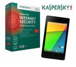 Win a Asus Google Nexus tablet and Kaspersky Internet Security Multi Device @ TV Choice