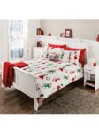Christmas Pin Ups Duvet Set from £5 @ George