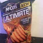 Mccoys 150g sizzling bbq chicken crisps 40p each or 3 for £1 @ Heron Foods