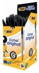 Bic Cristal Original 1.0mm Ball Pen Box of 50 - Black or Blue £5.50 Reduced From  £8.40 instore @ Tesco