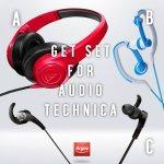 Win 1 of 3 pairs of Audio-Technica headphones @ Argos ( FB)