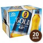 Fosters Gold 20x300ml Bottles £10 @ Tesco