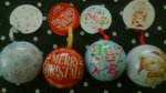 Christmas Bauble with gold coins 89p @ Home Bargains