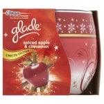 Glade Fragranced Candle in Glass Spiced Apple and Cinnamon 120g £1.75 at Wilkinson