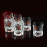 RCR whisky fire glasses (rrp£45)