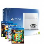 PS4 WHT + MINECRAFT + RABBIDS INVASION + LITTLEBIGPLANET3 + RAYMAN LEGENDS = £349.99 @ eBay / Shopto (More £349.99 bundles inside including white ps4 + Fifa 15 + last of us + 3 month ps plus)