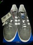 FS  adidas gazelle og grey/white size 9 brand new boxed ( NO LONGER FOR SALE )