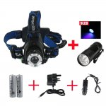 Head Torch + Flashlight+Car Charger @ Amazon