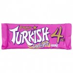 Turkish Delight (Fry's) 4 bars pack + Rose & Lemon Turkish Delight box - Poundland