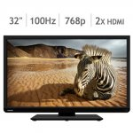 Toshiba 32 inch smart TV with 5 year guarantee and delivery @ costco online